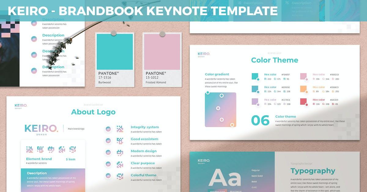Download Keiro - BrandBook Keynote Template by SlideFactory