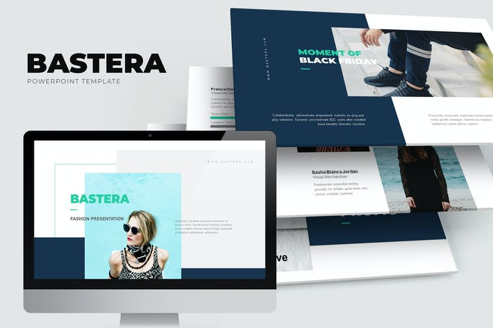 Cover Image For Bastera : Fashion Sale Promo Lookbook Powerpoint