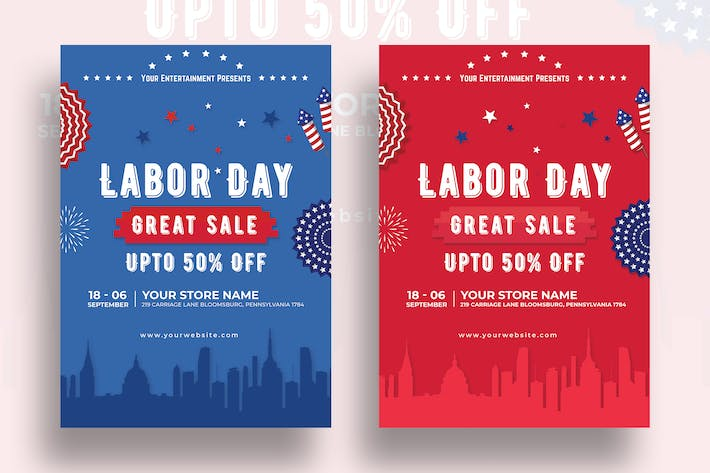 Thumbnail for Labor Day Sale Flyer-10