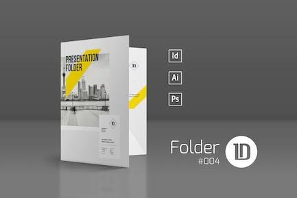 Presentation Folder Template 004