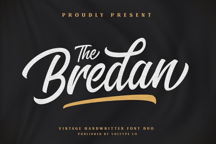 Thumbnail for Bredan Vintage Script