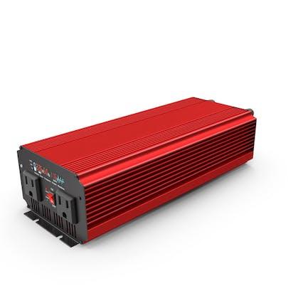 Power Inverter Red