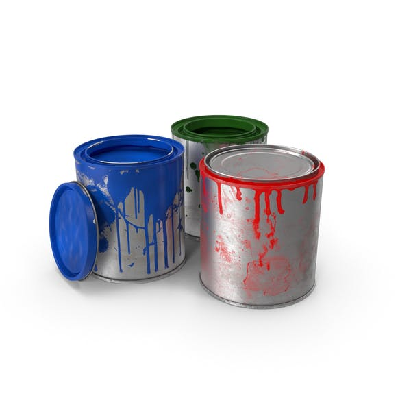 Thumbnail for Dirty Paint Cans