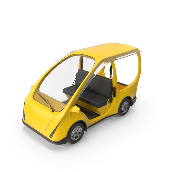 Thumbnail for Gelbes Elektroauto