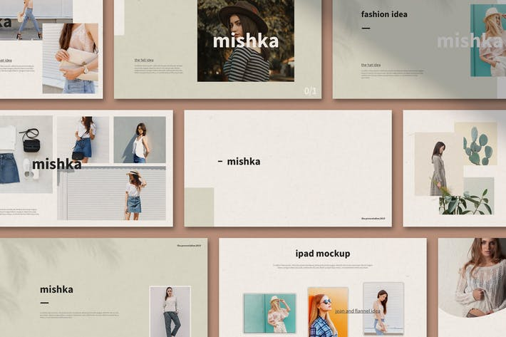 Thumbnail for Mishka - Google Slides