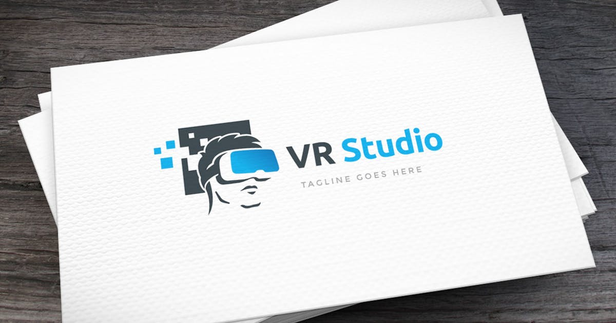Download VR Studio Logo Template by empativo