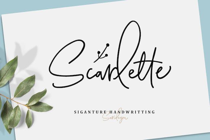 Thumbnail for Scarlette Script