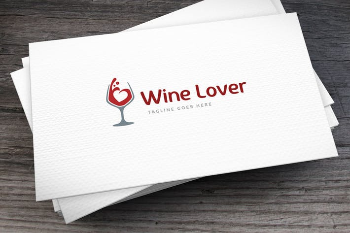 Thumbnail for Winelover Logo Template