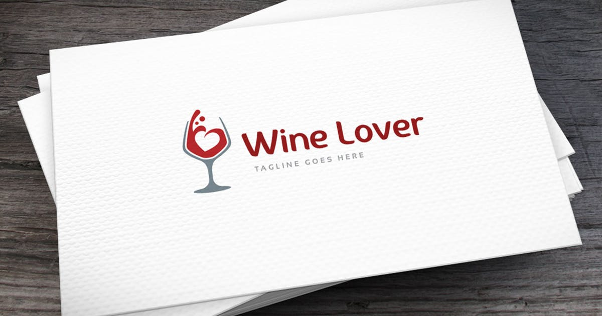 Download Winelover Logo Template by empativo