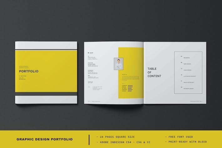 Thumbnail for Square Graphic Design Portfolio