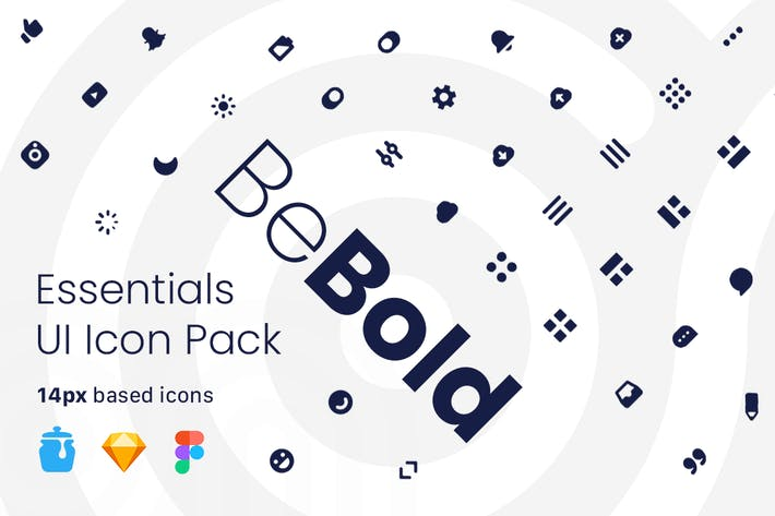 Thumbnail for BeBold Essentials UI Icon Pack