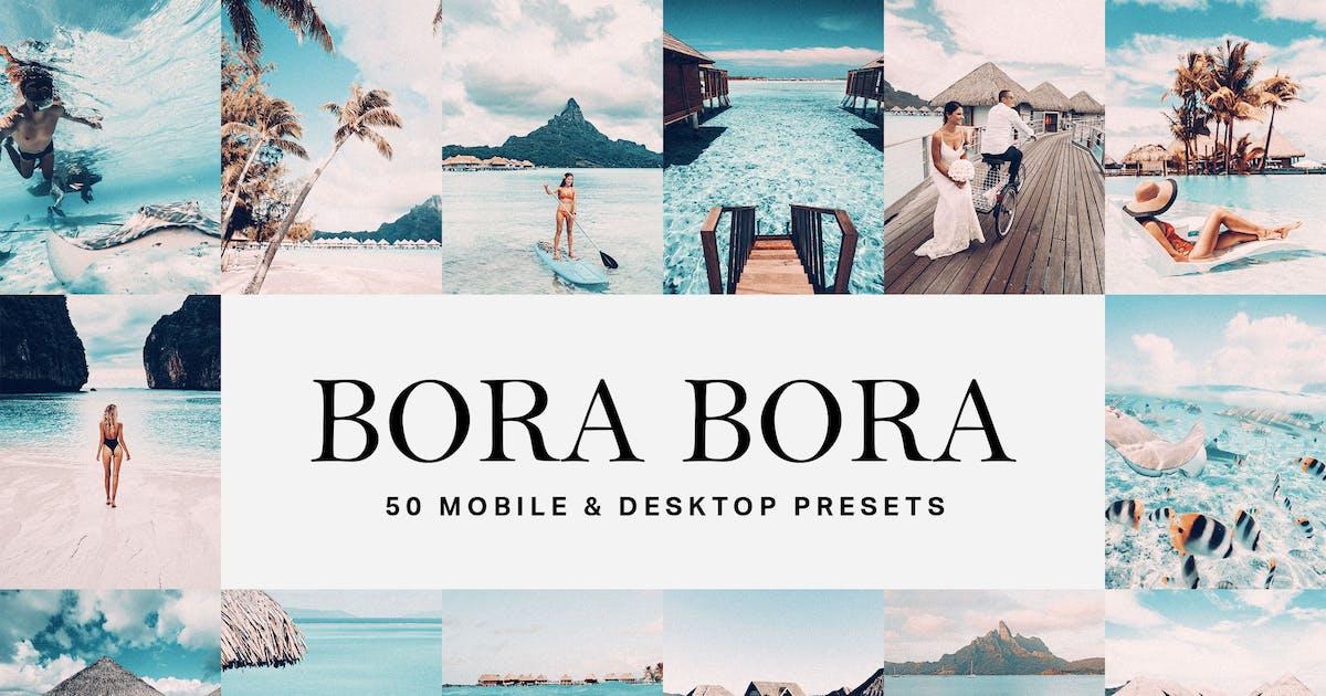 Download 50 Bora Bora Lightroom Presets and LUTs by sparklestock