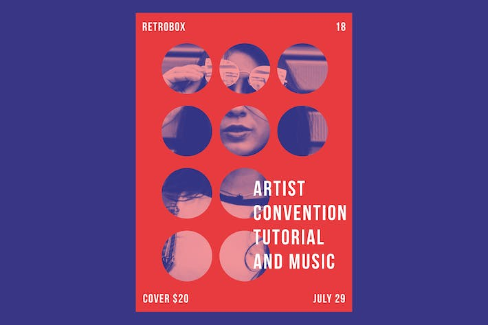Thumbnail for Artist Convention Flyer Poster