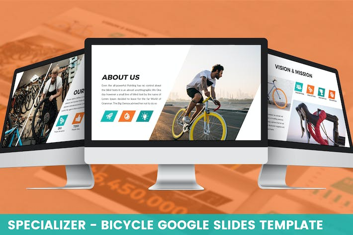Thumbnail for Specializer - Bicycle Google Slides Template