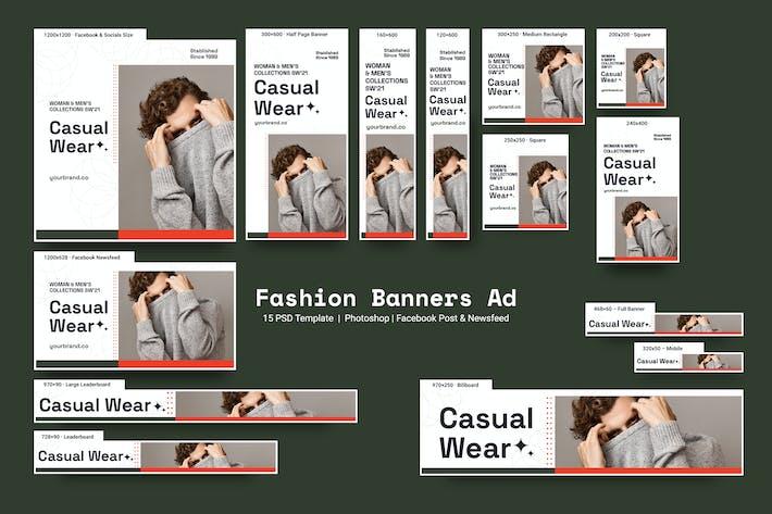 Thumbnail for Bannières de mode