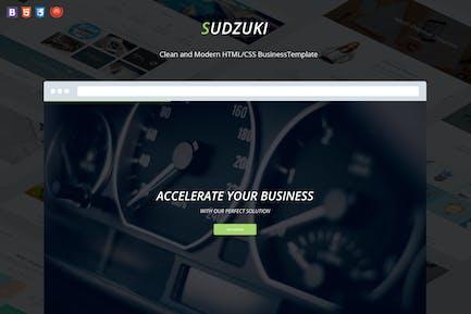 Sudzuki - Business HTML5/CSS3 Template
