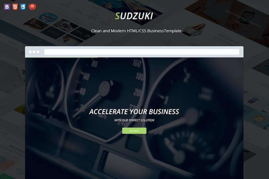 Download Sudzuki - Business HTML5/CSS3 Template by DankovThemes