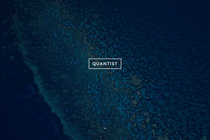 Thumbnail for Quantist - A Responsive Fullscreen Cover Theme