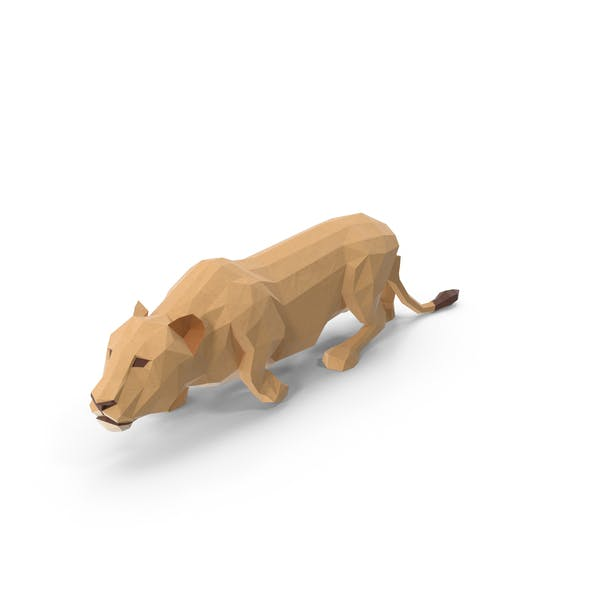 Cover Image for Low Poly Lioness