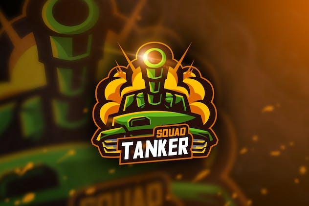 Tanker Squad - Mascot & Esport Logo