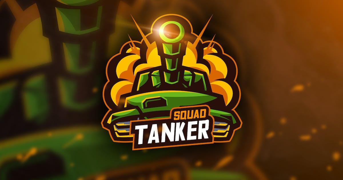 Download Tanker Squad - Mascot & Esport Logo by aqrstudio