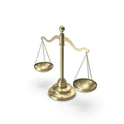 Gold Balance Scale