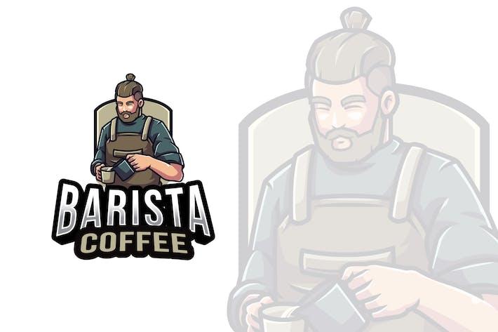 Barista Coffee Logovorlage