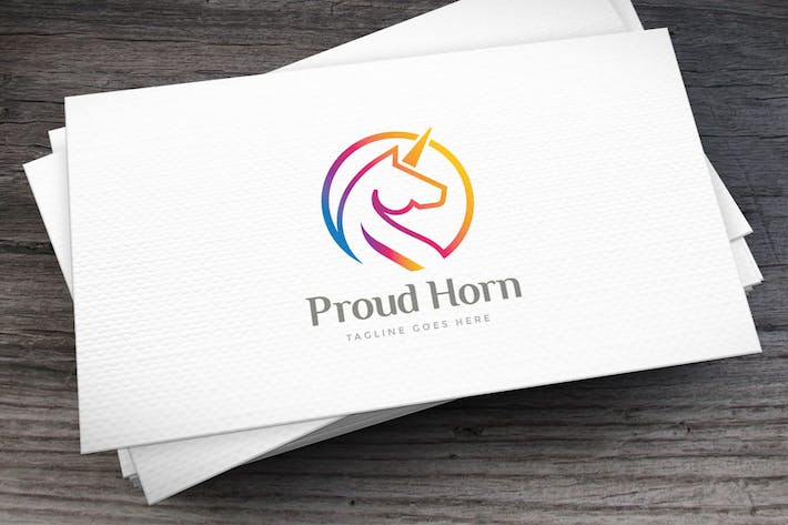 Thumbnail for Proud Horse Logo Template