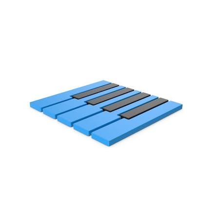 Piano Keyboards Symbol