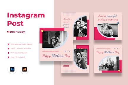 Fête des Mères Instagram Post
