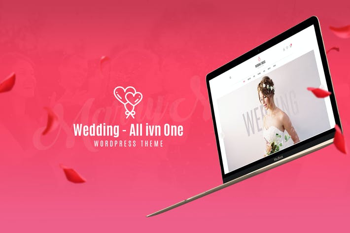 Thumbnail for Hochzeit - All in One WordPress Thema