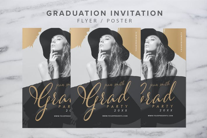 Thumbnail for Graduation Invitation
