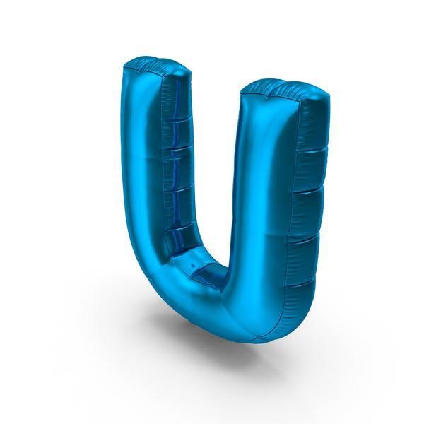 Thumbnail for Foil Balloon Letter U
