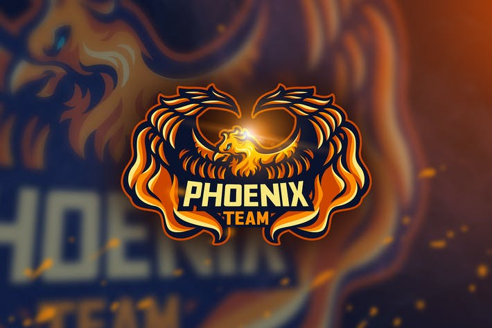 Thumbnail for Phoenix Team -Mascot & Esport Logo