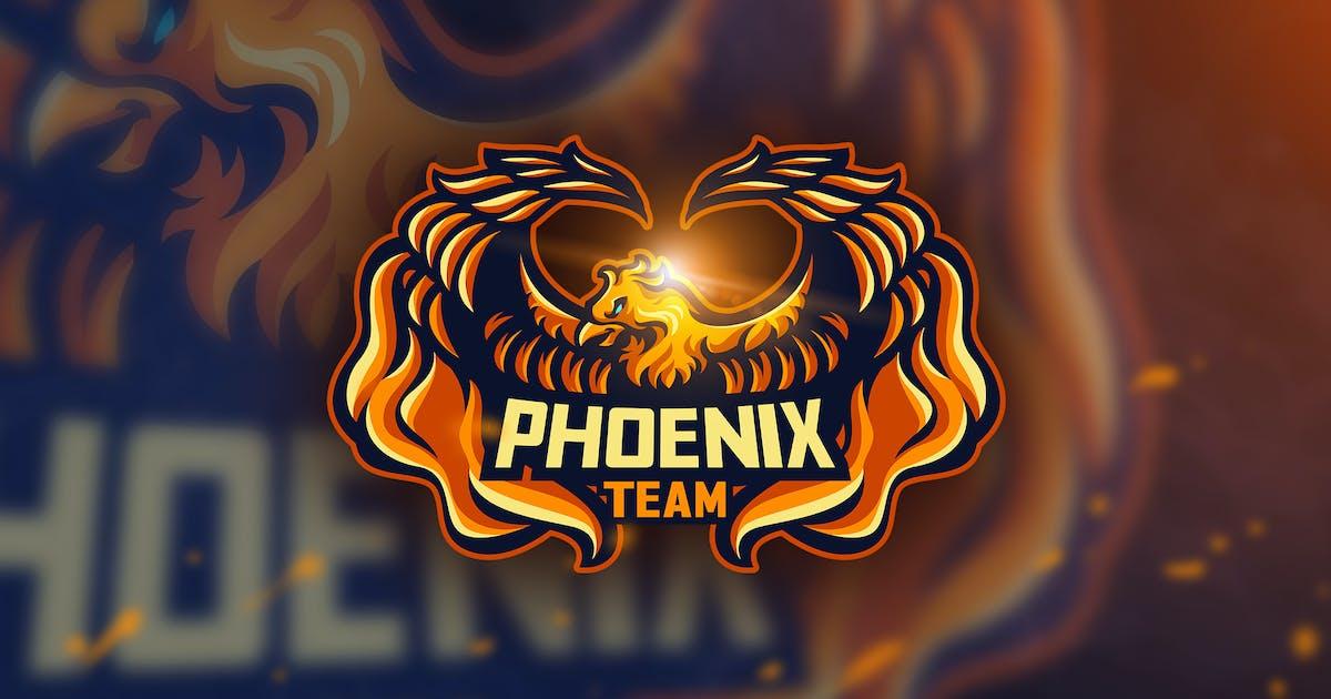 Download Phoenix Team -Mascot & Esport Logo by aqrstudio