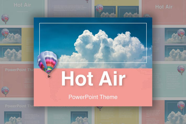 Thumbnail for Hot Air PowerPoint Theme