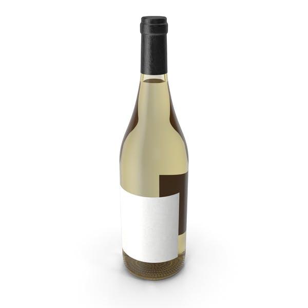 Бутылка вина Белое вино