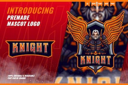Knight Heaven - Mascot Esport Logo Template