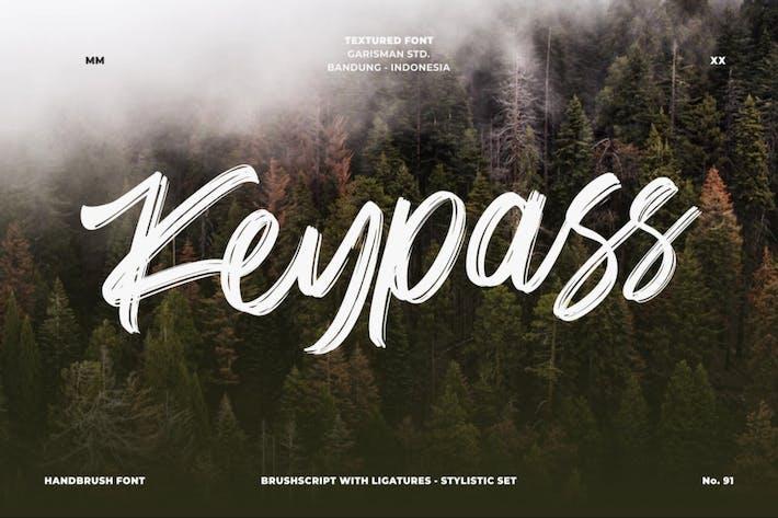 Thumbnail for Keypass | Fuente cepillada a mano