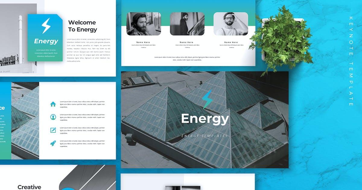 Download ENERGY - Company Profile Keynote Template by RahardiCreative