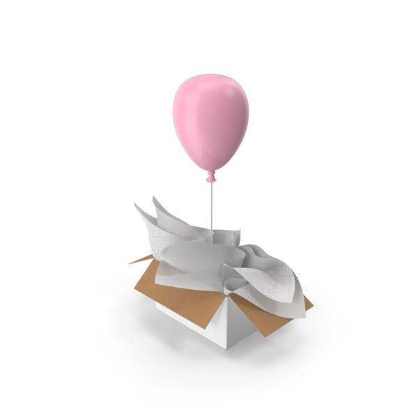 Pink Balloon Surprise Box