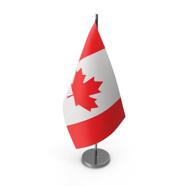 Table Flag Canada