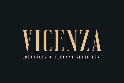 Vicenza - Elegante Con serifa