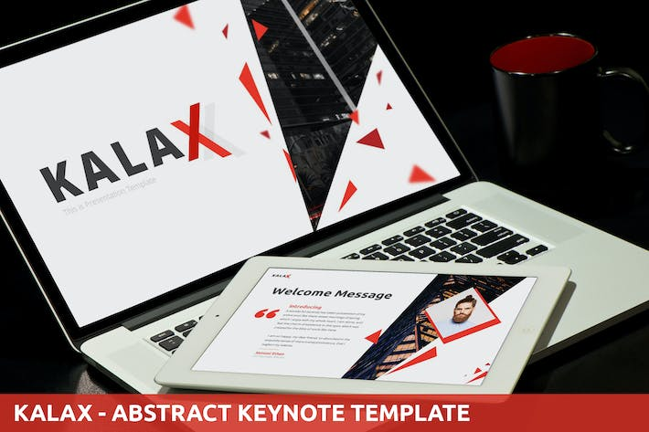 Thumbnail for Kalax - Abstract Keynote Template