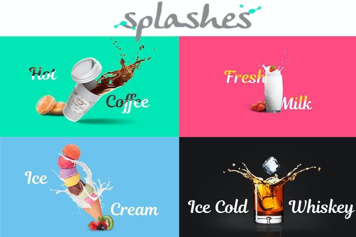Thumbnail for Splashes V2 PSD Template