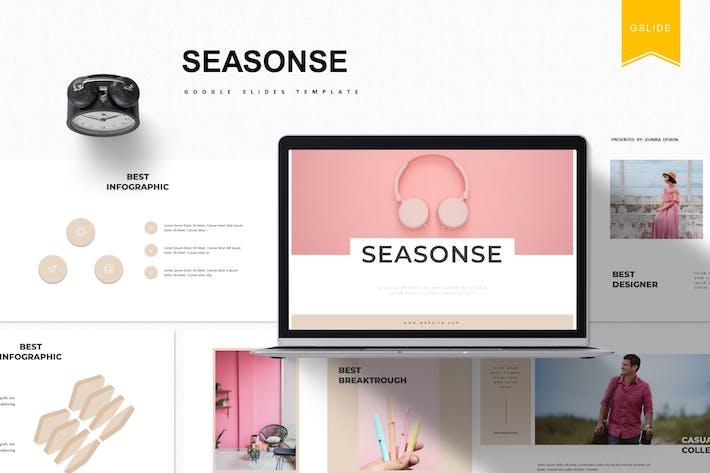 Thumbnail for Seasone | Google Slides Template
