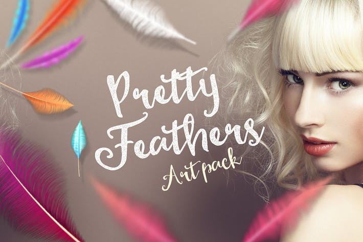 Thumbnail for Pretty Feathers Art Pack
