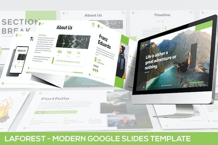 Thumbnail for Laforest - Modern Google Slides Template