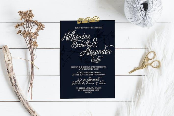 Cover Image For DIY Birdy Wedding Invitation & Rsvp