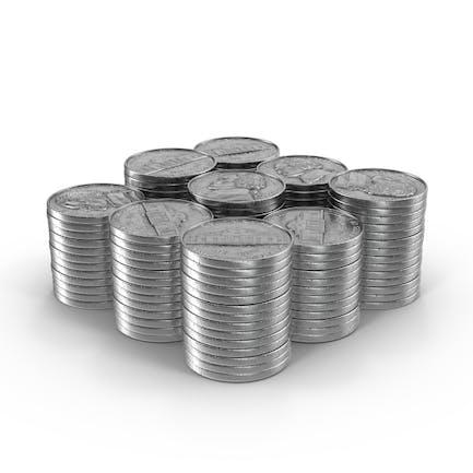 Stacks of Nickels